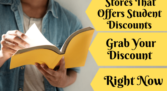 Best stores that offers student discount